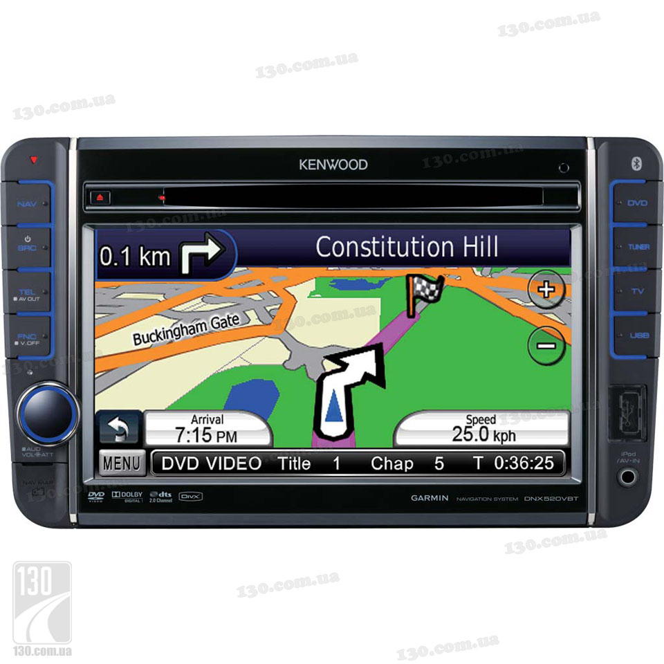 автомагнитола dvd kenwood dnx-520 vbt инструкция